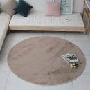 터치미 원형 러그 원형카페트 3중구조 샤기 카펫 150 R