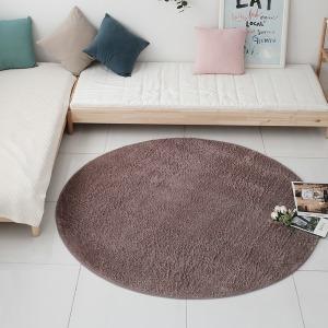 터치미 원형 러그 원형카페트 3중구조 샤기 카펫 170 R