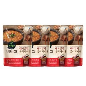 비비고 돼지김치콩비지찌개 500g 4개