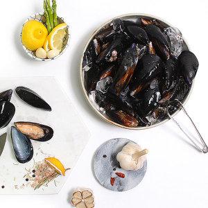 통영 당일 조업한 싱싱 홍합 2kg