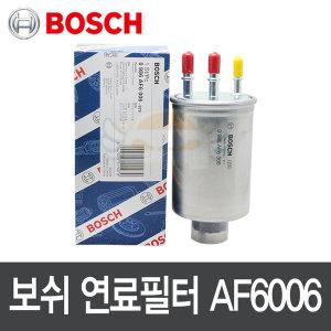 봉고3 2.9 디젤 보쉬 연료필터 0986AF6006