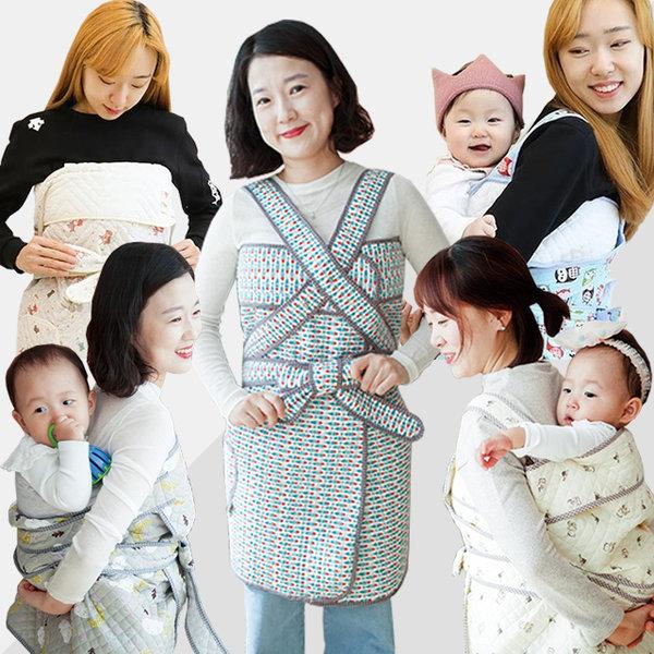 애착육아 아기포대기 신생아포대기