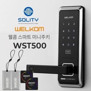 WST500 / 무타공 현관문도어락 디지털 번호키 전자키