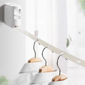 420cm 줄자 건조대 좁은공간활용 건조대 이불 세탁물