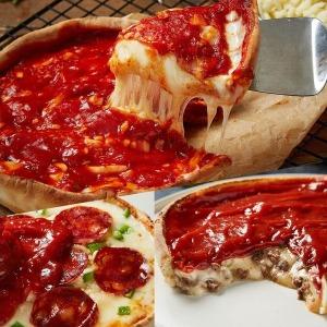 시카고  리얼치즈피자 355g 1+1(총2판)/ 2세트 구매시 피자빵2개증정