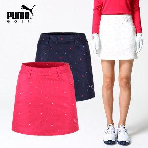 푸마골프  여성 패턴 스커트 3종_GA
