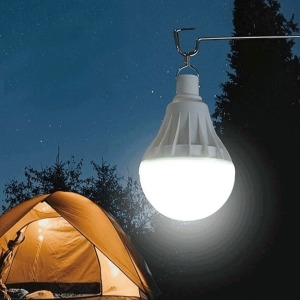 플래닛 충전식 전구형 led랜턴 야외 작업등 캠핑 전등