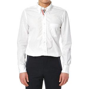 톰브라운  포플린 히든삼선 MWL010E 00906 114 남자 셔츠