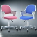 쿠시 코코 화이트 발받침/책상의자/학생의자/사무의자