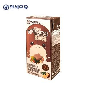 연세우유 마카다미아 초코우유 (190mlx24팩)