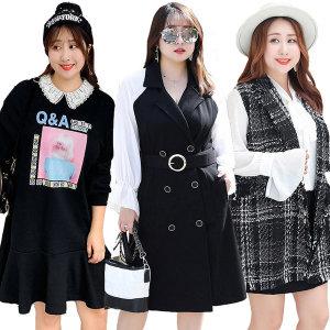 영애씨옷장/빅사이즈원피스/빅사이즈여성의류