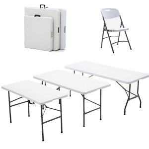 브로몰딩 1200 야외 행사용 일자형 접이식 테이블