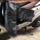 오토바이 무릎담요 방수 바람막이 스쿠터방한용품블랙