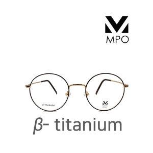MPO 원형 베타티타늄 컬러 4종 블루라이트 차단 안경