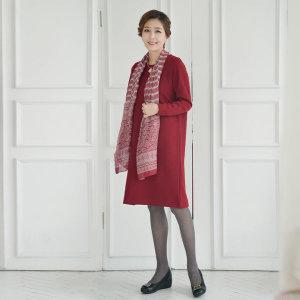 N2075사선쟈가드 스판롱원피스/엄마옷/엄마선물/ 쉬즈마담