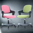 쿠시 코코 블랙 발받침/책상의자/학생의자/사무의자