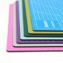 커팅 재단 데스크 책상 컬러 매트 칼판 A4 커팅 재단