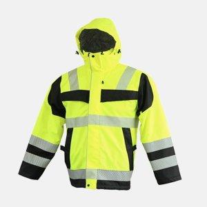 경찰패딩 안전자켓 안전점퍼 형광패딩 작업용 배달