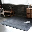 쉐브론 아늑한 러그 카페트 거실카페트 카펫 (100x150)