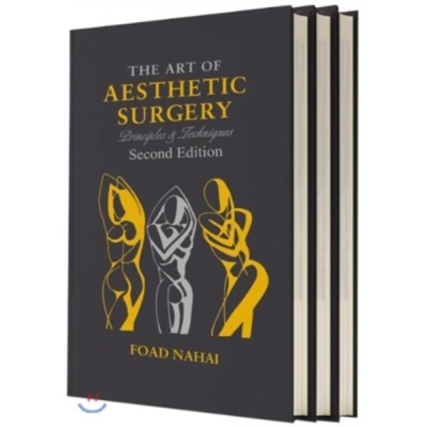 The Art of Aesthetic Surgery  3 Volumes : Principles and Techniques  Foad Nahai