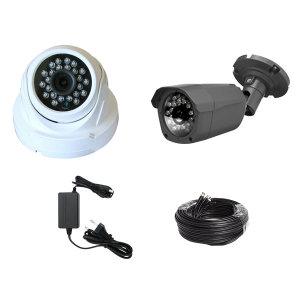 HD-TVI 500만화소 실내외 감시 카메라 CCTV 세트