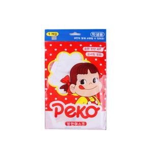 패코 쥬니어  면방한대 흰색 2개/캐릭터면마스크