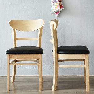 쿠키 의자 1+1 /식탁의자/원목의자/인테리어/카페의자