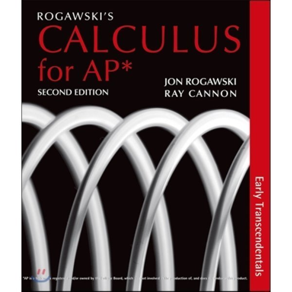 Rogawski s Calculus Early Transcendentals for Ap   Jon Rogawski  Ray Cannon