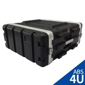LSR 앰프 이펙터용 랙케이스 ABS-4U