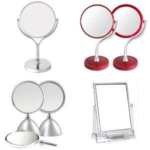 탁상거울 양면 단면 사각 원형 화장거울 책상거울 화