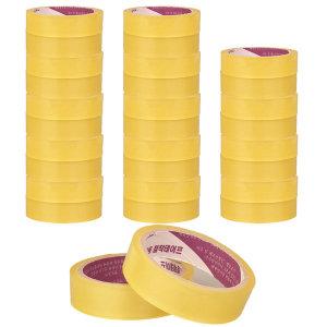 에타 투명 포장 테이프 스카치테이프 24mm 30m 30개