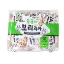 엉클팝 동글이 보리과자 400g/길쭉이/찹쌀과자/뻥튀기