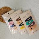 헤어핀 여자초등학생선물 유아선물 똑딱핀컬러4종셋트