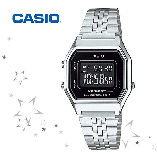정품 LA680WA-1B CASIO 카시오 메탈 시계 c35