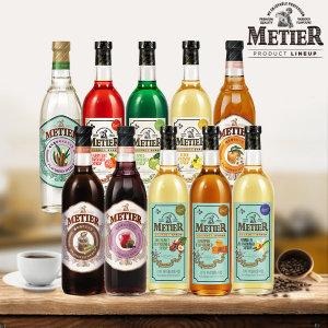 cj메티에 시럽 커피시럽 카페 디저트(맛선택)