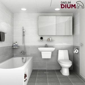 올인원 욕실리모델링 거실욕실형