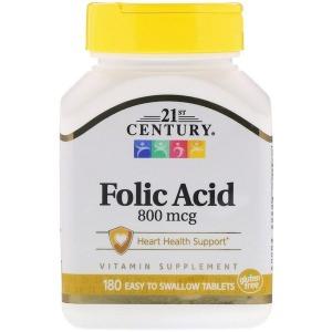 21st Century FolicAcid 21세기센트리엽산800mcg180정