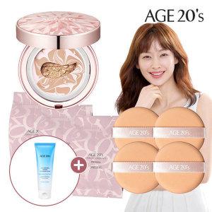 Age20S 다이아팩트케이스+리필3개+퍼프4개 21호+사은품