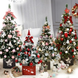 크리스마스트리 1.0-1.6M 장식소품 전구 풀세트
