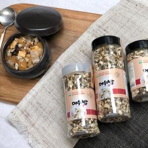 머쉬밥 건조버섯6종 80g/병 버섯잡곡밥 건강 버섯밥