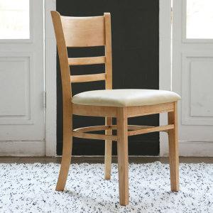 원목 내츄럴 의자1+1/원목의자/인테리어의자/식탁의자