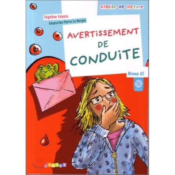 Avertissement de conduite (Book+CD)  Segolene Valente Pierre Le Borgne