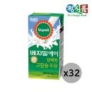 베지밀A 담백한 고칼슘 두유 190ml 32팩