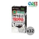 베지밀 뼈에좋은 칼슘 검은콩깨쌀 두유 190ml 32팩