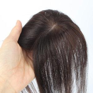 여자 가르마 불파트 긴머리 정수리가발 GW2003 30cm
