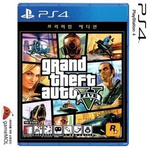 PS4 GTA5 온라인 에디션 한글판 / 소니공식판매점