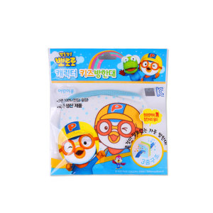 뽀로로 어린이 면방한대 파랑 1개/캐릭터마스크