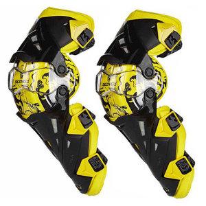 스코이코 K12 무릎보호대 바이크 오토바이 / 옐로우