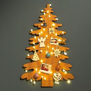 크리스마스트리 우드 스탠드 겸용 벽트리 5종선택
