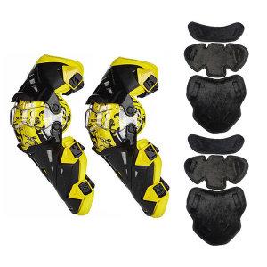 방한 내피 스코이코 K12 무릎보호대 오토바이 / 옐로우